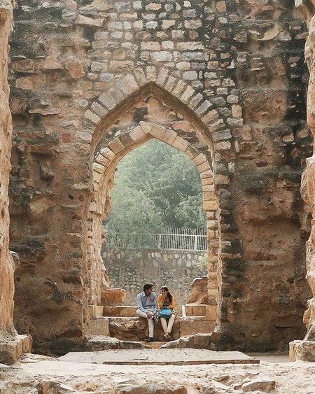 💑 Qutbminar Qutbcomplex India Indiatravel Travelling Photography Couple