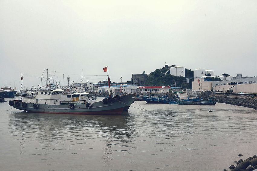 Boats⛵️ Going On A Boat Ride Fishing Boat Boat Trip Hello World Lightroom Shengsi Seaside Sea_collection My City