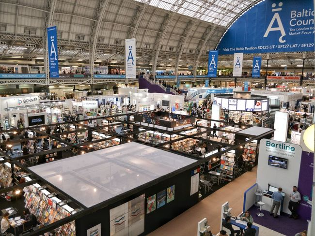 The London Book Fair / 10-12 April 2018 Fair Book Books Book Fair London Exhibition Publisher Publishing House Editorial  Industry Ceiling Architecture Interior