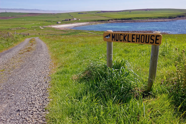 Muckle House, Herston Village, St Margaret's Hope, known locally as The Hope, is a village in the Orkney Islands, off the north-east coast of Scotland. It has a population of about 550, making it Orkney's third largest settlement after Kirkwall and Stromness British Telecom Cruise Ship Farm Icon Isolated Red Phone Box Scotland Bed And Breakfast Day Field Grass Green Color Land Nature No People Outdoors Plant Rural Scene Tourism Travel Destinations Village Life Vivid International