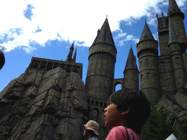 USJ In Osaka Hogwarts Castle Japan