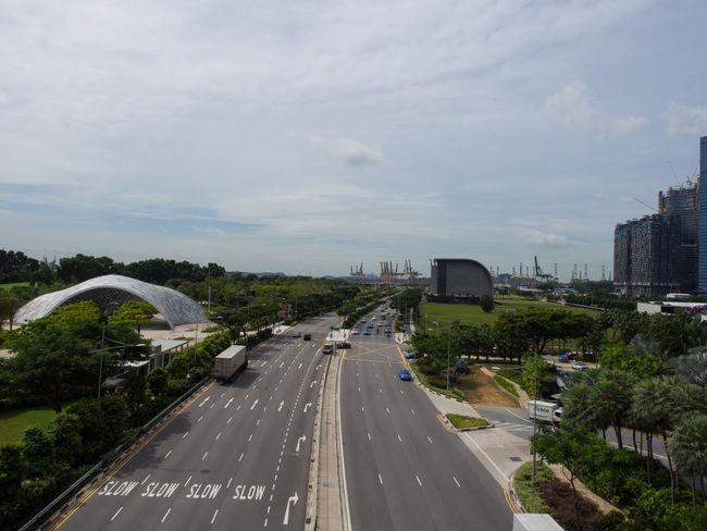Main road in Singapore Main Road Road Singapore Slow Street Traffic