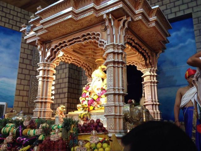 Shreemantha Dagdusheth halwai ganpati Ganpati GanpatiBappaMorya DagdushethHalwaiGanpati Pune City Punekars GaneshChaturthi Ganesh Puja Architecture Built Structure Building Exterior Famous Place Travel Destinations Flower History Architectural Column Tourism Place Of Worship Arch Day Architectural Feature Façade Outdoors Majestic National Landmark Capital Cities  First Eyeem Photo