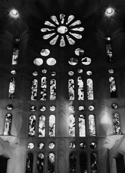Lights Sagrada Familia