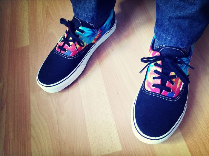 New, fancy Vans Shoes Colorfu