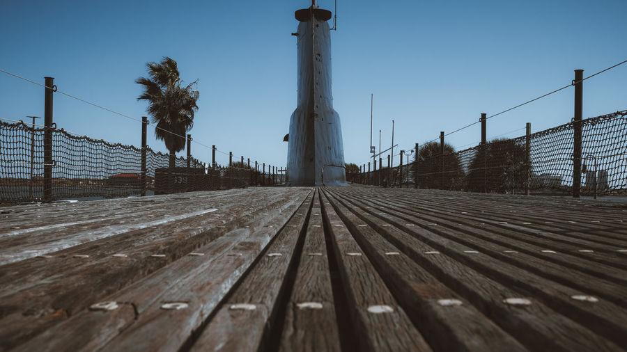 Ss-197 deck, seawolf park, galveston, tx