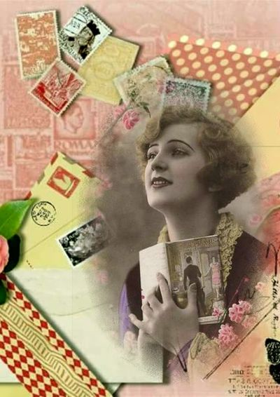 Collage digital vintage. Paper Currency Currency Wealth Finance Adult Females One Young Woman Only One Woman Only Women Business Only Women Young Adult People Portrait Indoors  Young Women Beautiful Woman One Person Adults Only Close-up Digitalimage Vintage Photo Digitalcomposition Vintage❤ Vintage Moments