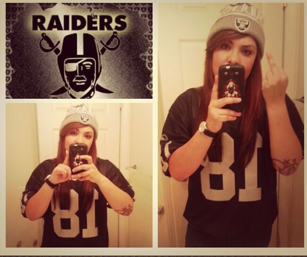 Stay faithfull to my team no matter wat Raiders Nation:))