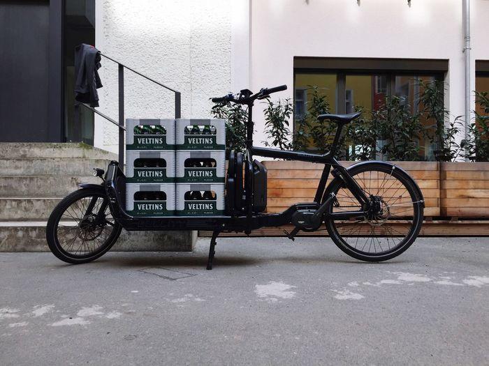 Bierbike Cargo Bike Cargobike Beer Transportation Pedelec Bike Ebike Bullitt