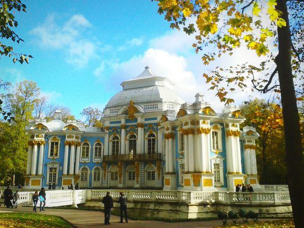 Du hast nur dieses eine Leben.Leb's wie dein zweitesPuschkin Relaxing Taking Photos Holiday Russia Beautiful Traveling Class Trip St Petersburg Park