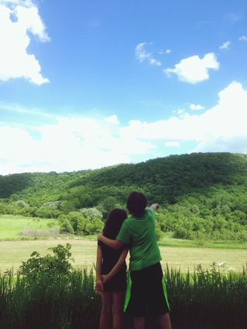 In the heart of Bluff Country Minnesota Driftless Kids Brotherandsister