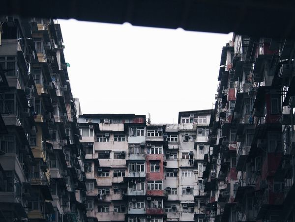 Day Architecture Low Angle View Full Frame No People Outdoors Apartment Sky Ghetto
