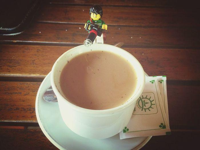 Coffee break LEGO Hanging Out Enjoying Life