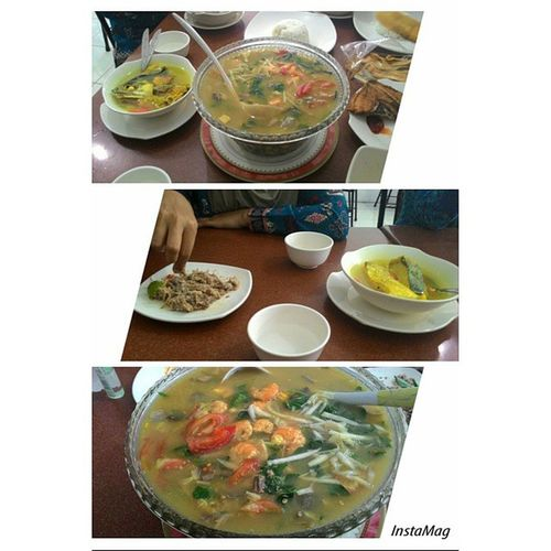 Lunch Lunchie Kapurung Aromaluwu Foodie Foodlovers Delicious Tasteofindonesia Indonesianfood