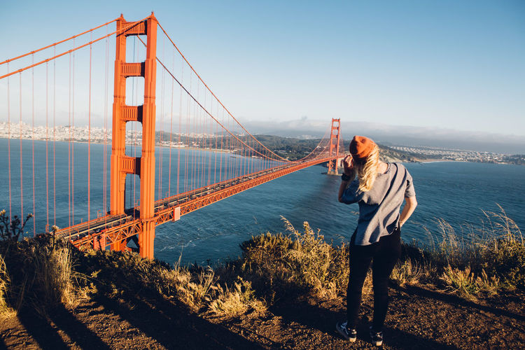 California City Enjoying The View Exploring Freedom Golden Gate Bridge Happiness Laughing Lifestyle San Francisco USA USAtrip Windy Hair Bridge Enjoying Life Friendship Goldenhour Ocean Portrait Roadtrip Sunset Travel Destinations West Coast Wind Women