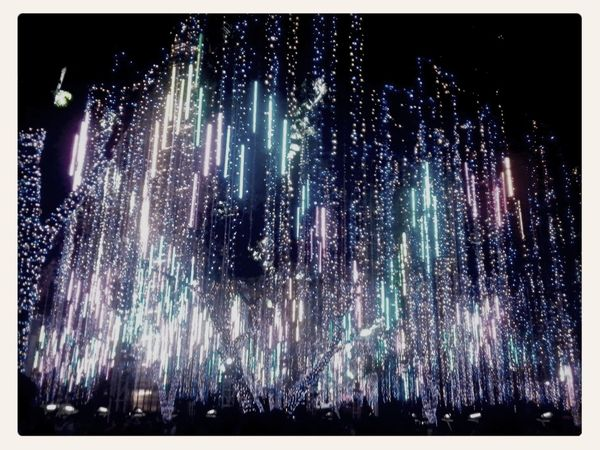 city xmas lights...