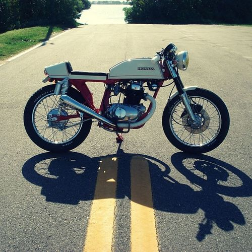 Hondacb200t Caferacer
