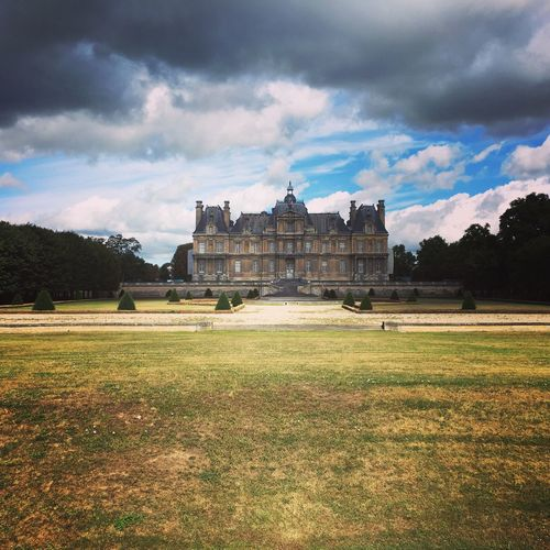 Your Ticket To Europe First Eyeem Photo French Chateau No People Dramatic Sky