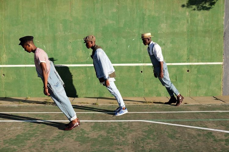 Tennis court taunts in Cape Town. Fashion Fashion Photography Portrait Capetown Man South Africa