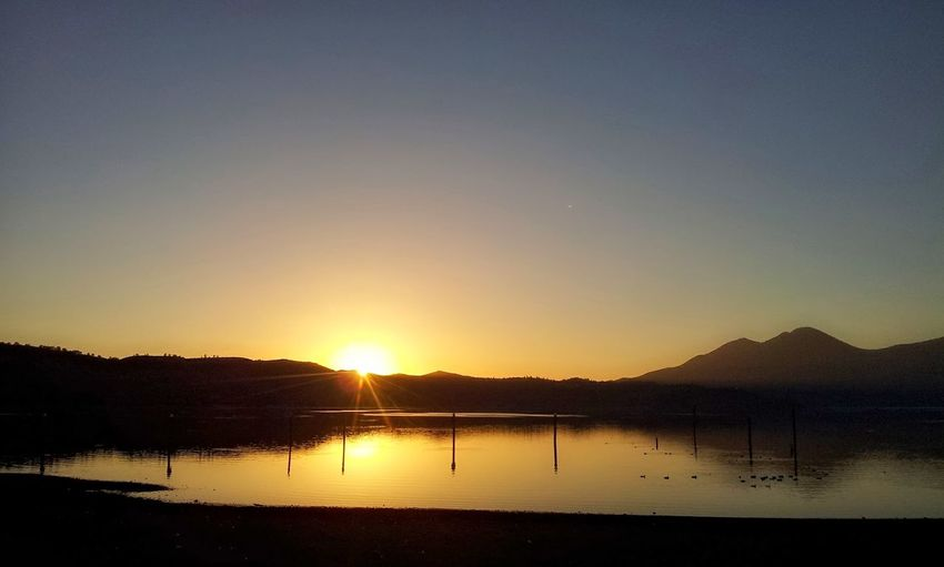 Lake County, Ca Clearlake, Ca. Sunset Evening Sky Nature Mt. Konocti Live For The Story