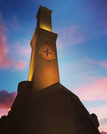 Architecture Lanterna Di Genova Lantern Genova Liguria Italy Italia Faro Lighthouse