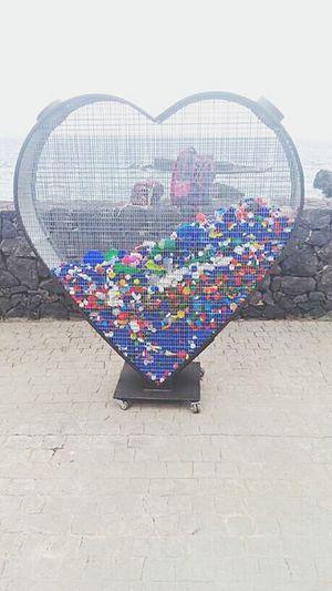 Contenedor Tapones Reciclaje Spain ✈️🇪🇸 España🇪🇸 Recicle Heart Corazón Tapon