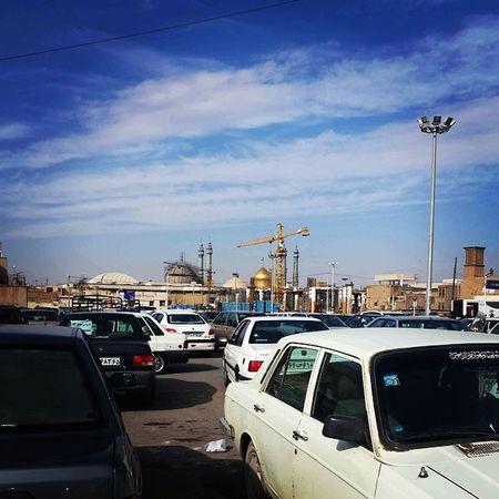 . پارکینگ حرم حضرت_معصومه قم