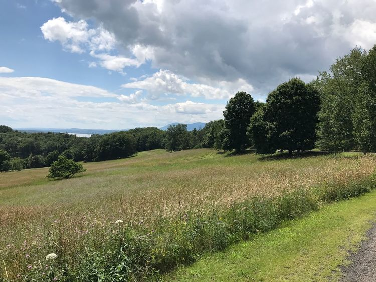 View of Hudson valley from Olana house