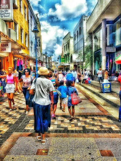 A Trek Into The Capital. Taking Photos Walking Around Taking Pictures Walking Around The City  Live Love Shop Enjoying Life Welcome To My World Fine Art Photography Multicolors  Watching People People Photography Man Made Structure Beauty In Ordinary Things Beautiful People Bridgetown Barbados 2016