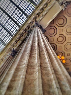Union Station Chicago Chicago Column Architecture Architectural Detail