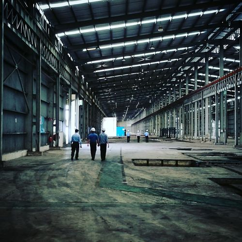 Architecture Empty Factory Factory Indoors  Manufacturing Men