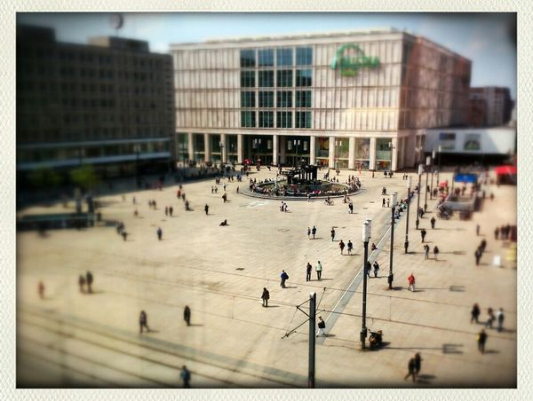 Alexanderplatz Miniature Tiltshift