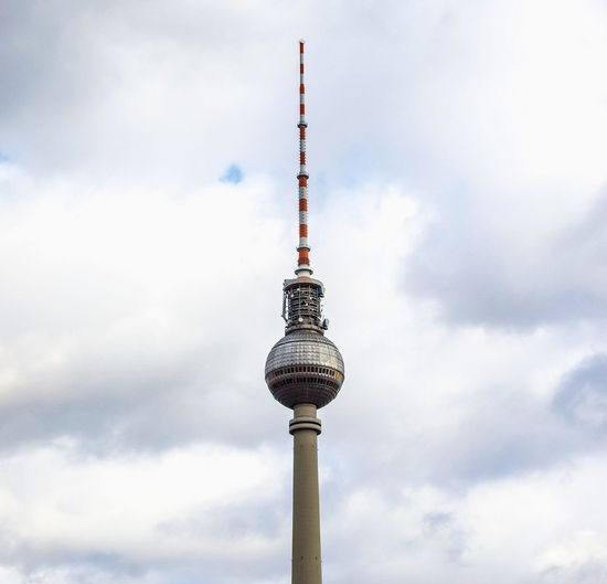 Fernsehturm (television tower) in Alexanderplatz, Berlin Alexander Alexander Platz Alexanderplatz Architecture Berlin Capital Cities  Fernsehturm Fernsehturm Berlin  Germany Platz Tall - High Television Television Tower Tourism Tower Travel Destinations