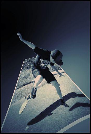 Bending the rules!! Skateboarding Art