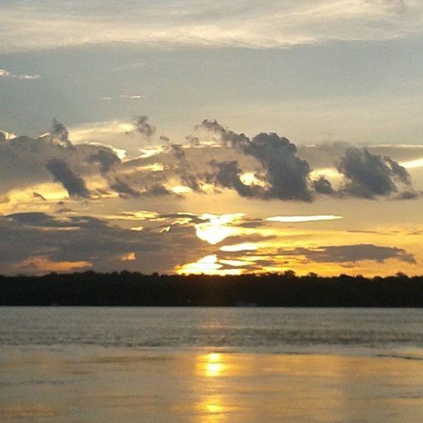 Sem filtro é o melhor por do sol Portovelho Sun Riomadeira Efmm sol pordosol beautifulsun instamoments instagood instatime