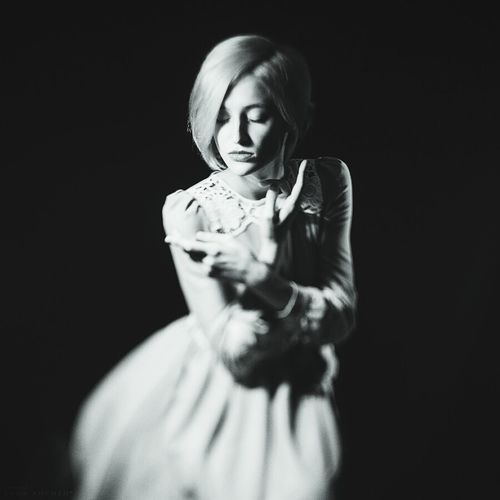 Rabbit ❤️ Spb Me Spb Live Girl ArtWork Model лицо Photography Black & White Anna Anhen