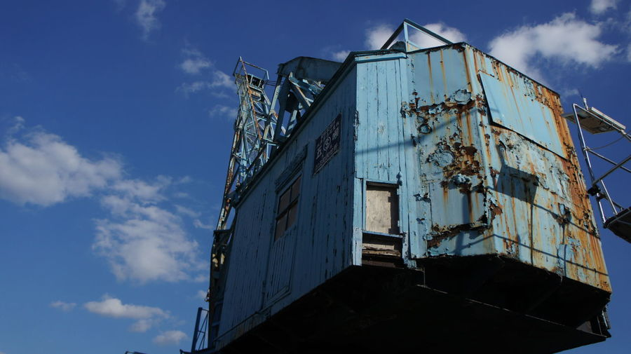 Sky Landscape Gantry Crane Crane