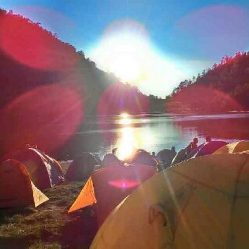 Morning Mahameru Ranokumbolo Mountain sunrise indonesia_indah indonesiadventure indonesia malang trip backpacker