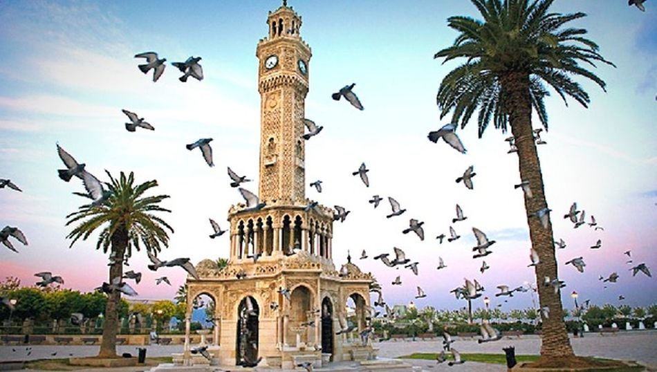 Izmir Turkey City Sky No People EyeEm Gallery Birds EyeEm Best Shots Beauty In Nature EyeEmBestPics First Eyeem Photo My Photography People Myprofile My Favorite Photo Turkish Real People Nature City Ancient History Tourism Built Structure Travel Flying