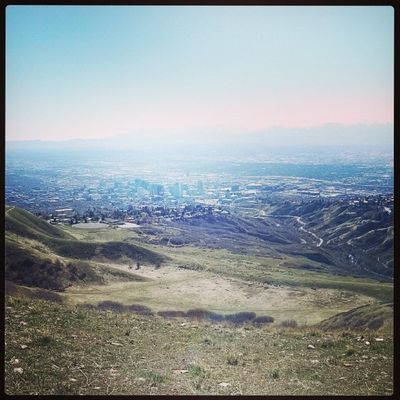 Badassworkout Run Hike Vibram Fivefingers 1200 vertical feet thanks Saltlakecity