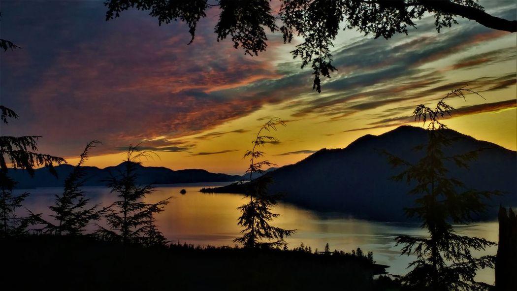 Alaska Sunset Alaska Sunset Hiking EyeEmNewHere