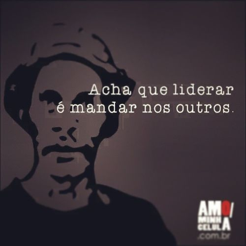 UmaOtimaTarde AmoMinhaCelula EuEscolhiLiderar ♥