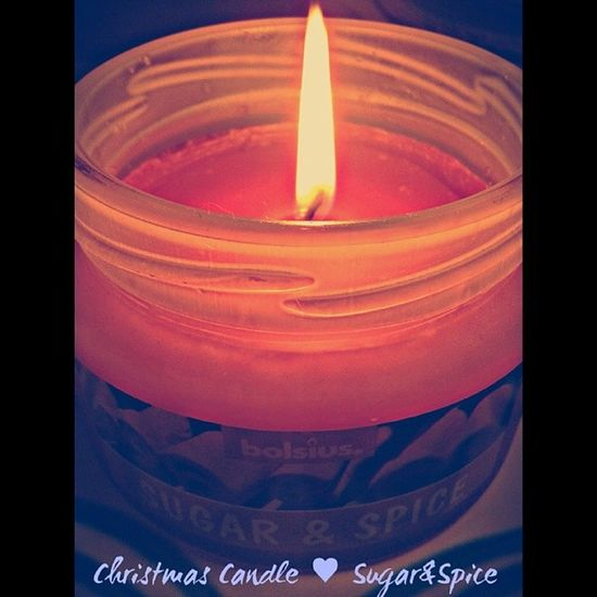 Sugarandspicecandle Candle Christmasfeeling Sleepy