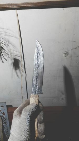 Handmade knife Forge  Blacksmith