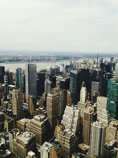 Newyorkcity Empire State Building United States Cityshot Topfloor