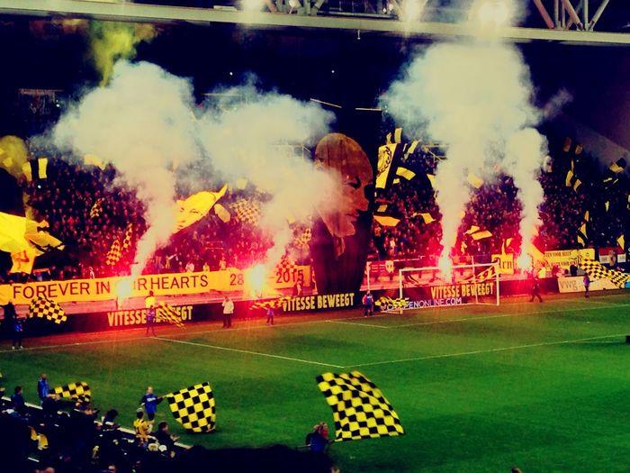 Football Soccer Crowd Football Stadium Vitesse