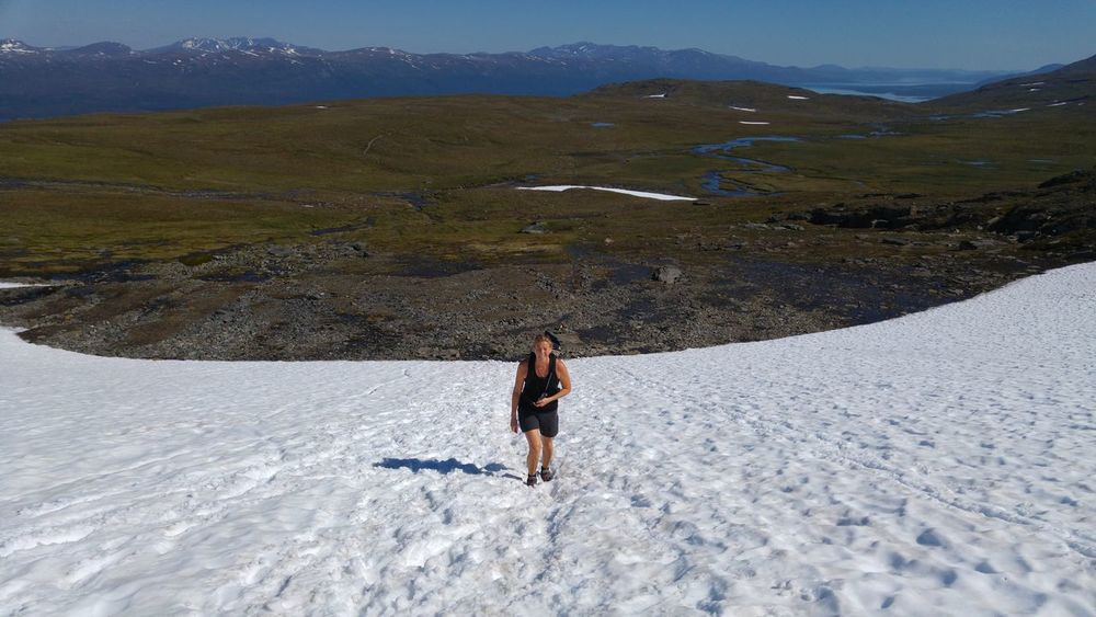 Summerhike Abisko Snow Mountain Adventure Club +22celcius Lost In The Landscape