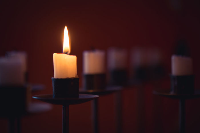 Emotional Photography Grief Mourning Romantic Wintertime Burning Candle Candlelight Close-up Day Emotion Flame Focus On Foreground Heat - Temperature Illuminated Indoors  No People Warm Warm Light