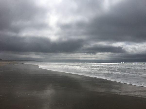 Gloomy Day Pacific Beach Beautiful Day The Beach Life