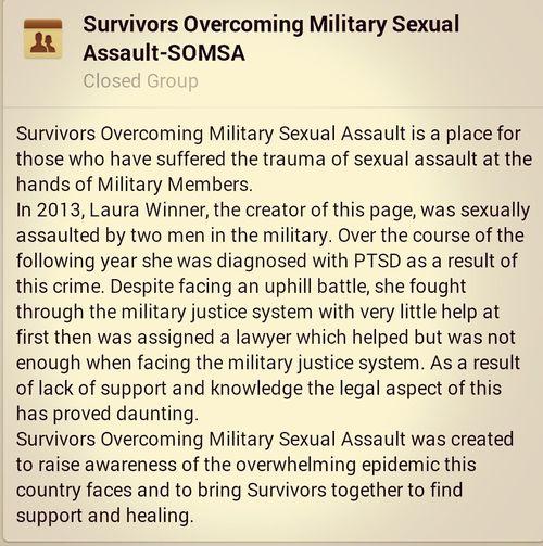 Sexual Assault Support Group Ptsd Awareness
